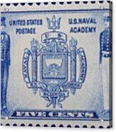 Us Naval Academy Postage Stamp Acrylic Print