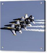Us Navy Blue Angels Acrylic Print