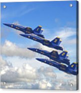 Us Navy - Blue Angels Acrylic Print