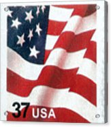 U.s. Postage Stamp, 2003 Acrylic Print