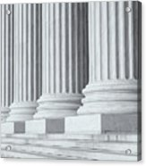 Us Supreme Court Building Iv Acrylic Print by Clarence Holmes