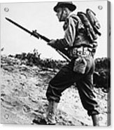 U.s World War II Infantry, 1942 Acrylic Print