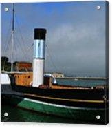 Usa Paddle Steamer Eppleton Hall Newcastle Acrylic Print