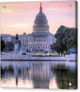 Usa Today Acrylic Print
