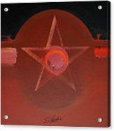 Usaaf Vermillion Acrylic Print