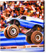 Usaf Afterburner Monster Jam Acrylic Print