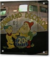 Usaf Museum B-29 Korea Acrylic Print