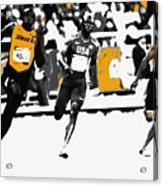 Usain Bolt Bringing It Home Acrylic Print