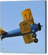 U.s.army Biplane Acrylic Print