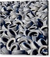 Used Tires Acrylic Print