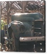Used Up Truck Acrylic Print