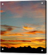Usery Sunset Acrylic Print