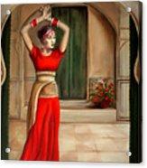 Usha Acrylic Print