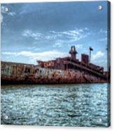 Usns American Mariner - Target Ship, Chesapeake Bay, Maryland Acrylic Print