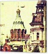 Uspenski Cathedral Acrylic Print