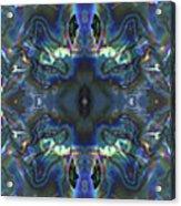 Uss Arizona Sailor Tears Kaleidocope Acrylic Print