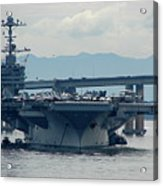 Uss George Washington Acrylic Print