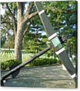 Uss Maine Anchor Acrylic Print