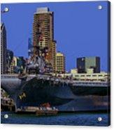 Uss Midway San Diego Ca Acrylic Print
