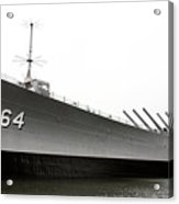 Uss Wisconsin - Port-side Acrylic Print