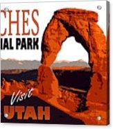 Utah, Arches, National Park Acrylic Print