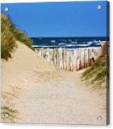Utah Beach Normandy France Acrylic Print