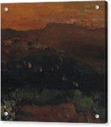 Utah Horizon Acrylic Print