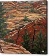 Utah Paradise Acrylic Print