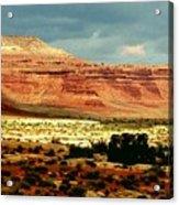 Utah Plateau Mtn M 302 Acrylic Print