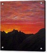 Utah Sunset Acrylic Print