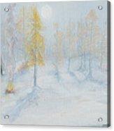 Ute Winter Camp Acrylic Print