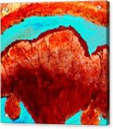 Uterus Acrylic Print
