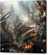 Utherworlds Ashes Acrylic Print