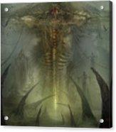 Utherworlds Lake Odium Acrylic Print by Philip Straub
