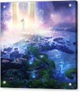 Utherworlds Passage To Hope Acrylic Print by Philip Straub