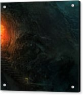 Utherworlds Threads Of Kirillia Acrylic Print