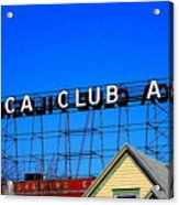 Utica Club Ale West End Brewery Acrylic Print