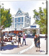 V And A Waterfront Cape Town Acrylic Print by Jan Hattingh