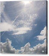 V Cloud Under The Sun  Acrylic Print