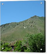 V For Virginia City Nv Mail Drop Acrylic Print