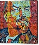 V. I. Ulyanov. Mosaic. Sochi Park. Acrylic Print