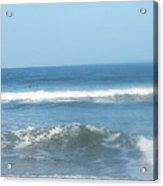 Va Beach Ocean Front Acrylic Print