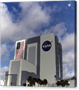 Vab At Kennedy Space Center Acrylic Print