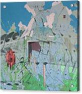 Vacant Vaca Barn Acrylic Print