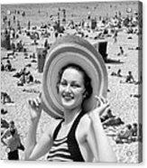 Vacation Montage, C.1930s Acrylic Print
