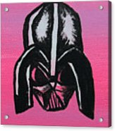 Vader In Pink Acrylic Print