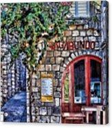 Vagabundo Corfu Acrylic Print