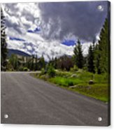Vail Road Acrylic Print