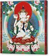 Vajrasattva Yuganadha  Acrylic Print