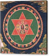 Vajravarahi Mandala Acrylic Print